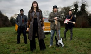 Field of dreams … Kat and the Band