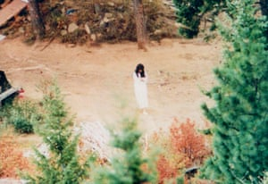 The last photograph of Vicki Weaver before she was killed by an FBI sniper.