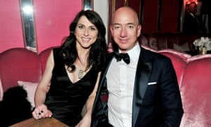 Bezos announced he was divorcing his wife McKenzie after 25 years of marriage.