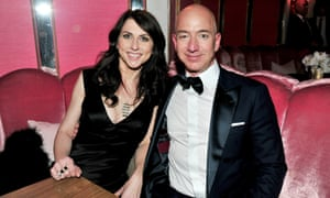 MacKenzie Bezos: divorce from Amazon CEO could make her