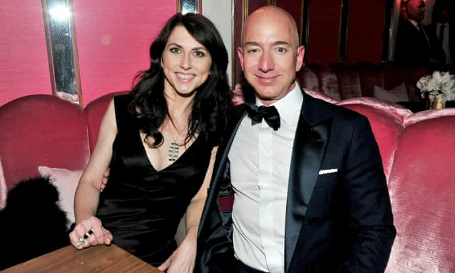 MacKenzie Bezos, 48, would become the world's richest woman if she receives half the Bezos fortune.