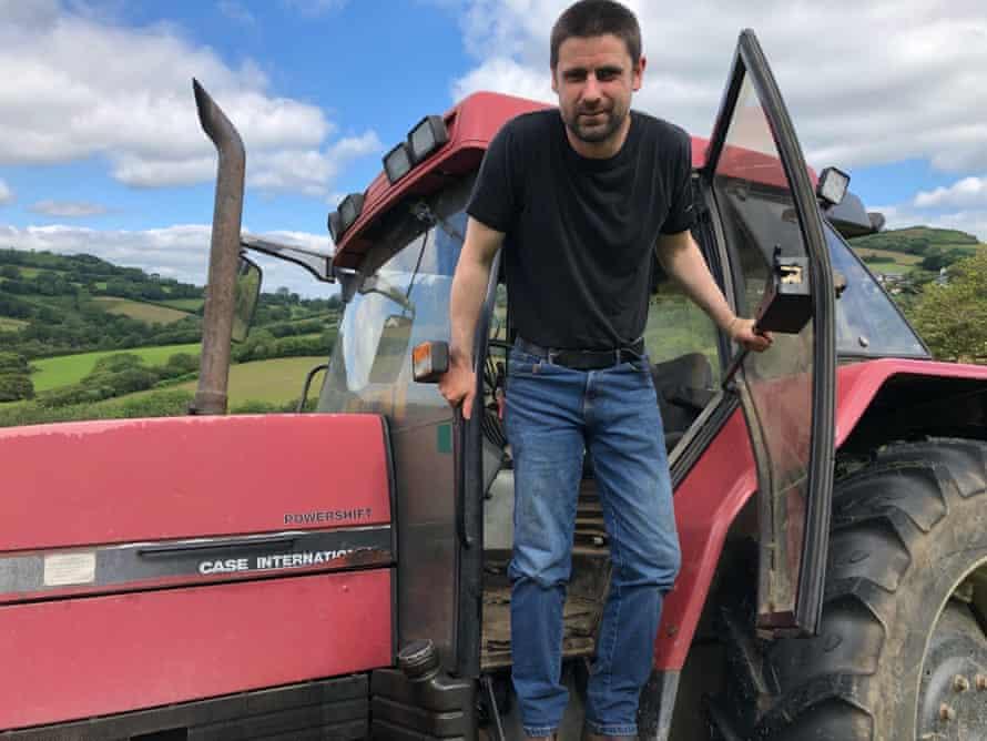 Farmer Tom Sneath of Morcombelake