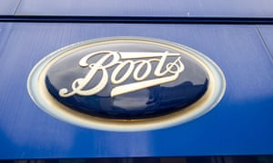 Coronavirus outbreak, Boots, Slough, Berkshire, UK - 09 Jul 2020<br>Mandatory Credit: Photo by Maureen McLean/REX/Shutterstock (10706584g) Boots store in Slough High Street, Berkshire. Boots Pharmacy have announced today that 4,000 employee jobs are at risk following a big drop in footfall in their stores during the coronavirus lockdown. 48 of their Boots Opticians stores are to close and other job losses will be made at their head office in Nottingham. Coronavirus outbreak, Boots, Slough, Berkshire, UK - 09 Jul 2020