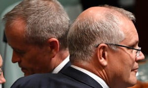 Despite his party's woes, Scott Morrison remains ahead of Labor leader Bill Shorten as preferred prime minister, the Essential poll shows.