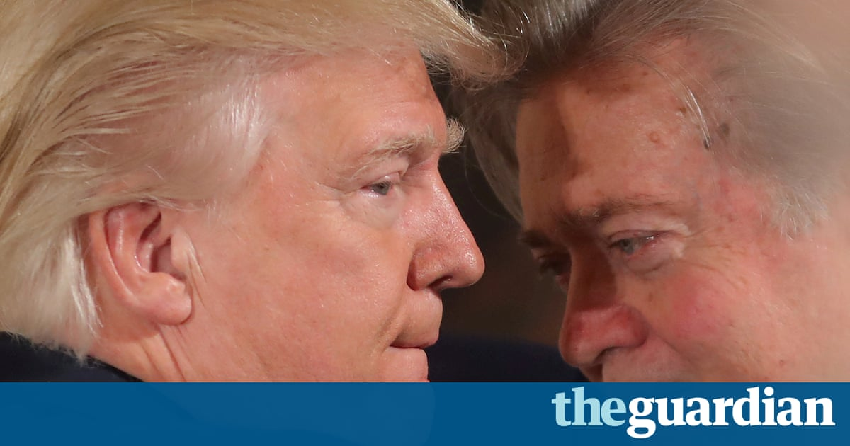 Steve Bannon's work is done. Donald Trump doesn't need him now