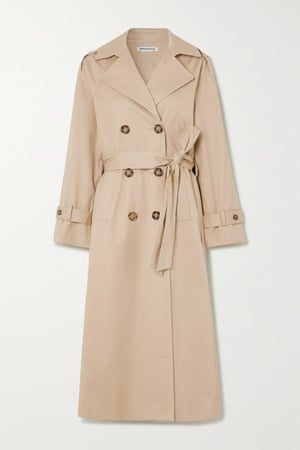 Trench, £290, reformation from net-a-porter.com