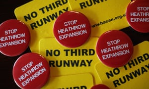 """The Airport Commission's final report, <a href=""""http://www.theguardian.com/uk-news/2015/jul/01/heathrow-third-runway-recommended-in-davies-report-on-airport-capacity"""">which concludes expansion at Heathrow is the 'clear and unanimous' choice</a>, has reignited a battle between rival airports, environmentalists and senior politicians."""