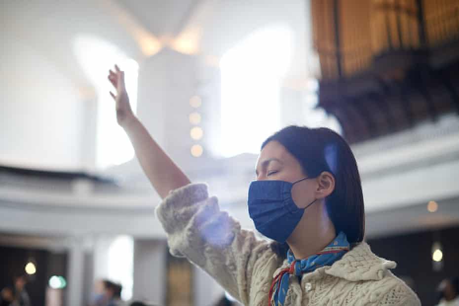 Sophie Howard at St John at Hackney church