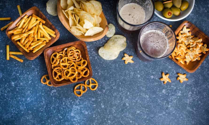 Chips, pretzels and other snack foods