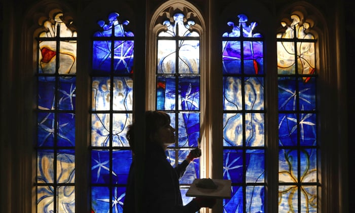 Be Careful Hockney Modern Stained Glass Can Shatter Medieval Beauty