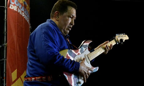 Sing a song of subversion: US funded Venezuela rock bands to dent Chávez