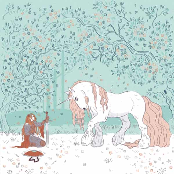 The Secret Lives of Unicorns by Termisa Seraphini and Sophie Robin