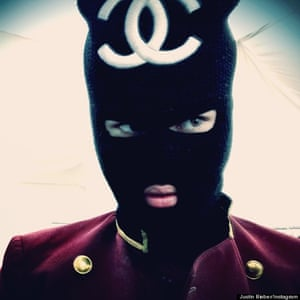 Bieber 'channels' Chanel.