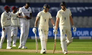 Dom Sibley and Ben Stokes have carved out an excellent partnership on day one.