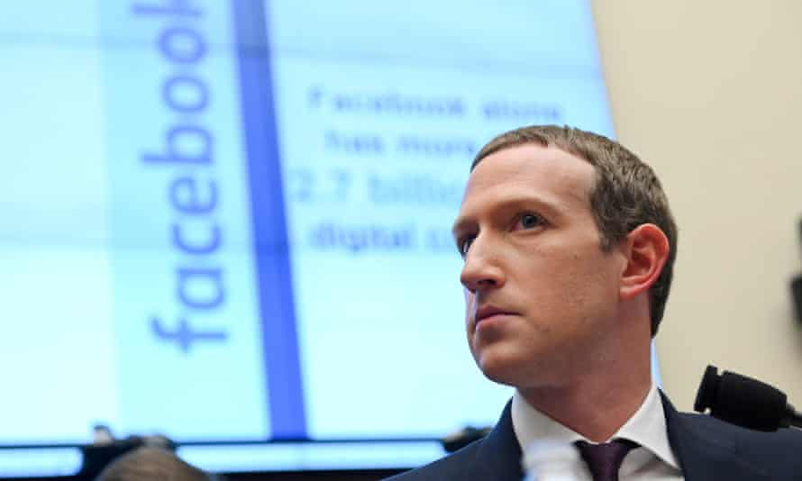 FILE PHOTO: Facebook Chairman and CEO Zuckerberg testifies at a House Financial Services Committee hearing in Washington<br>FILE PHOTO: Facebook Chairman and CEO Mark Zuckerberg testifies at a House Financial Services Committee hearing in Washington, U.S., October 23, 2019. REUTERS/Erin Scott/File Photo