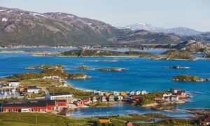 Sommaroy island in Norway.