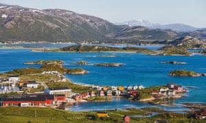 Sommarøy island in Norway