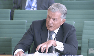 Sir Amyas Morse, head of the National Audit Office