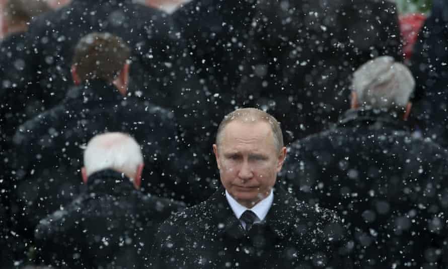 Vladimir Putin in 2017