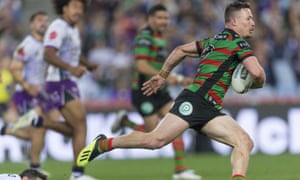 Damien Cook of the Rabbitohs