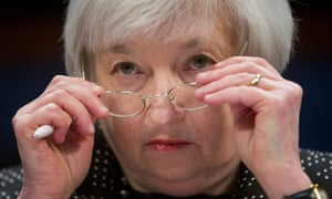 "Janet YellenIn this Wednesday, Feb. 25, 2015, file photo, Federal Reserve Chair Janet Yellen removes her glasses as she testifies on Capitol Hill in Washington, before the House Financial Services Committee hearing: ""Monetary Policy and the State of the Economy."" A rate increase is expected when the Federal Reserve ends its latest meeting Wednesday, Dec. 16, 2015. It would be the first rate hike in more than nine years. And it would raise the Fed's benchmark rate from a record low near zero, where it's been for seven years. (AP Photo/Pablo Martinez Monsivais, File)"