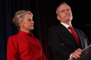Former opposition leader Bill Shorten addresses the party faithful after Labor lost the federal election in May