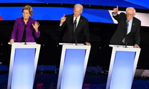 'The moderators did not press Warren on what had transpired, or whether there could have been a misunderstanding.'