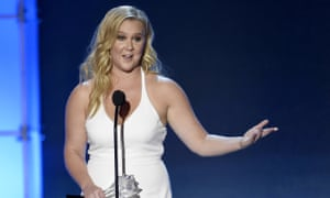 Amy Schumer said that 'there's nothing wrong with being plus-size' – before firmly distancing herself from that category.