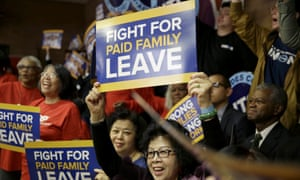New York governor Andrew Cuomo announced late on Thursday that the state legislature had agreed the new policy on paid family leave.