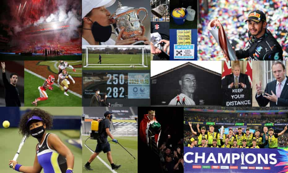 2020 - what a year for sport.