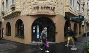 The Apollo restaurant at Potts Point in Sydney.