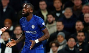 Rüdiger says he was racially abused during Chelsea's match with Tottenham earlier this season.