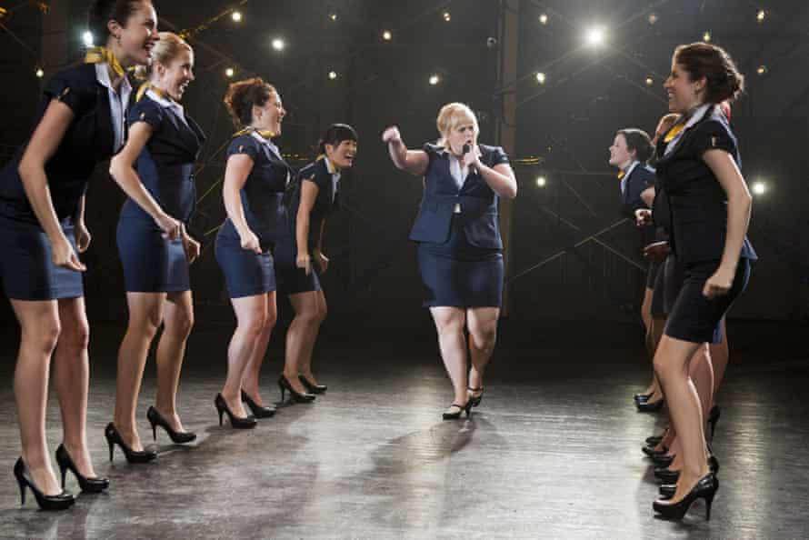Rebel Wilson in Pitch Perfect.