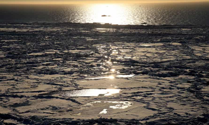 The National Oceanic and Atmospheric Administration's 2018 Arctic Report Card noted a record low extent for virtually the entire ice season in the Bering Sea.