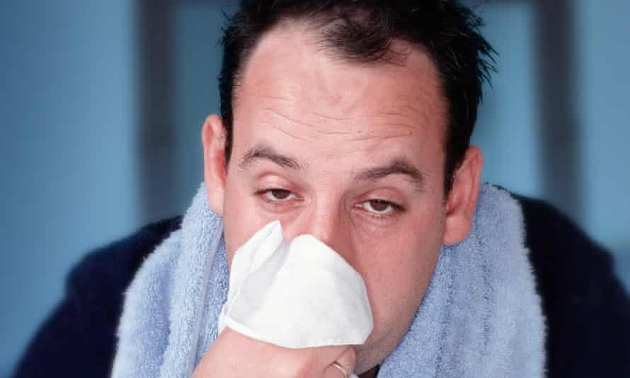 Dr Sue argues that research points towards men having a weaker immune response to common viral respiratory infections and the flu.