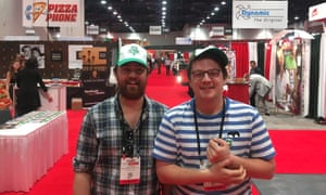 On a mission: brothers Thom (left) and James Elliot who founded Pizza Pilgrims.