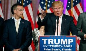 Corey Lewandowski: the perfect embodiment of Trump's unorthodox approach to politics.