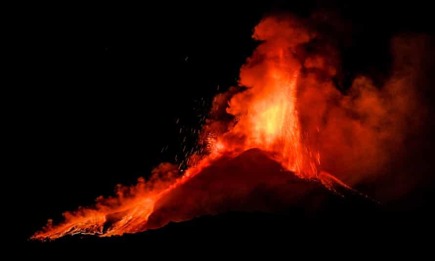 Europe's most active volcano has been on explosive form in recent weeks