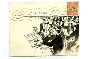 One of the envelopes sent to Vera Tolhurst