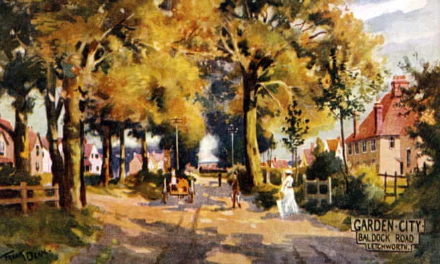 World's first garden city Ebenezer Howard