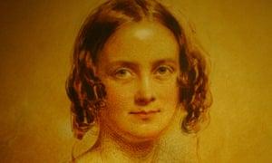 A portrait of Emma, wife of Charles Darwin