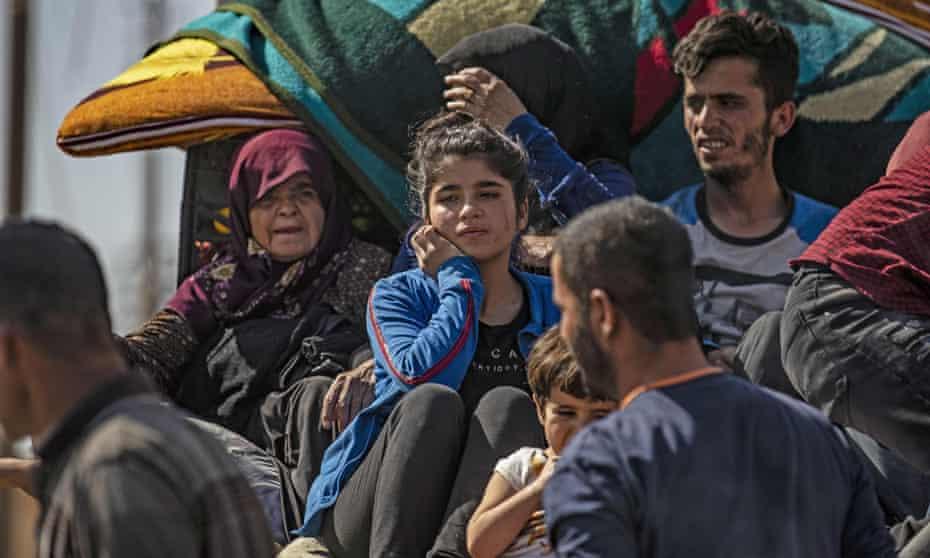 Syrian-Arab and Kurdish civilians