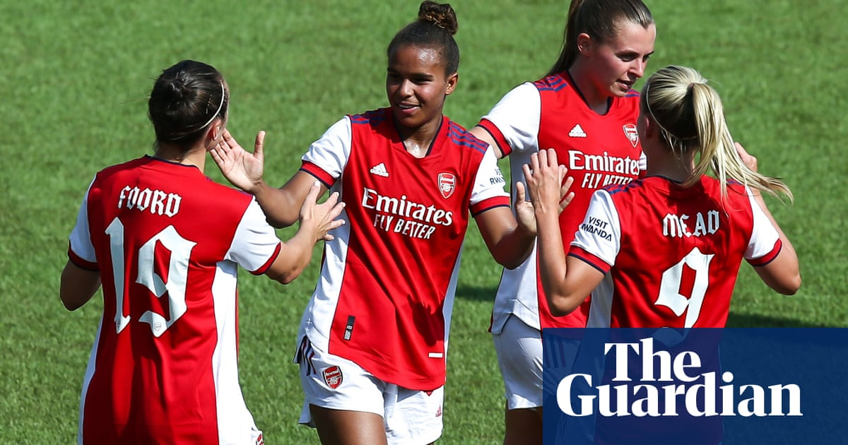 Arsenal Women cruise to Champions League qualifying win over Okzhetpes
