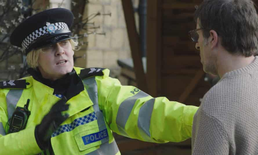 Sarah Lancashire and Con O'Neill in Happy Valley.
