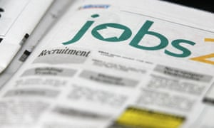 Job adverts in a local paper