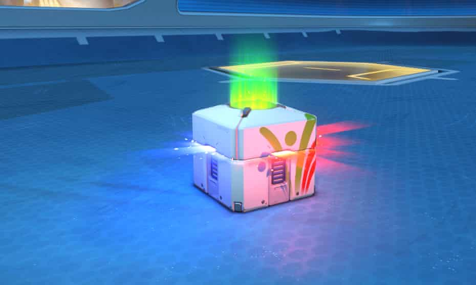 Loot box from Overwatch Summer Games 2017