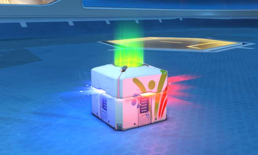 Belgium had already ruled that loot boxes, such as in the game Overwatch (pictured), were in violation of gambling legislation.