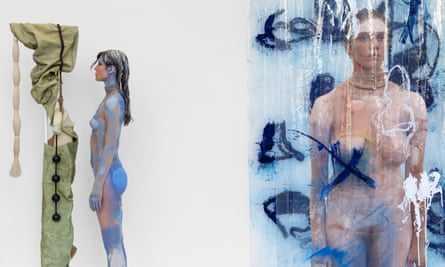 Donna Huanca's show Surrogate Painteen, now on show at Peres Projects in Berlin.