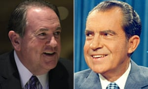 Mike Huckabee and Richard Nixon
