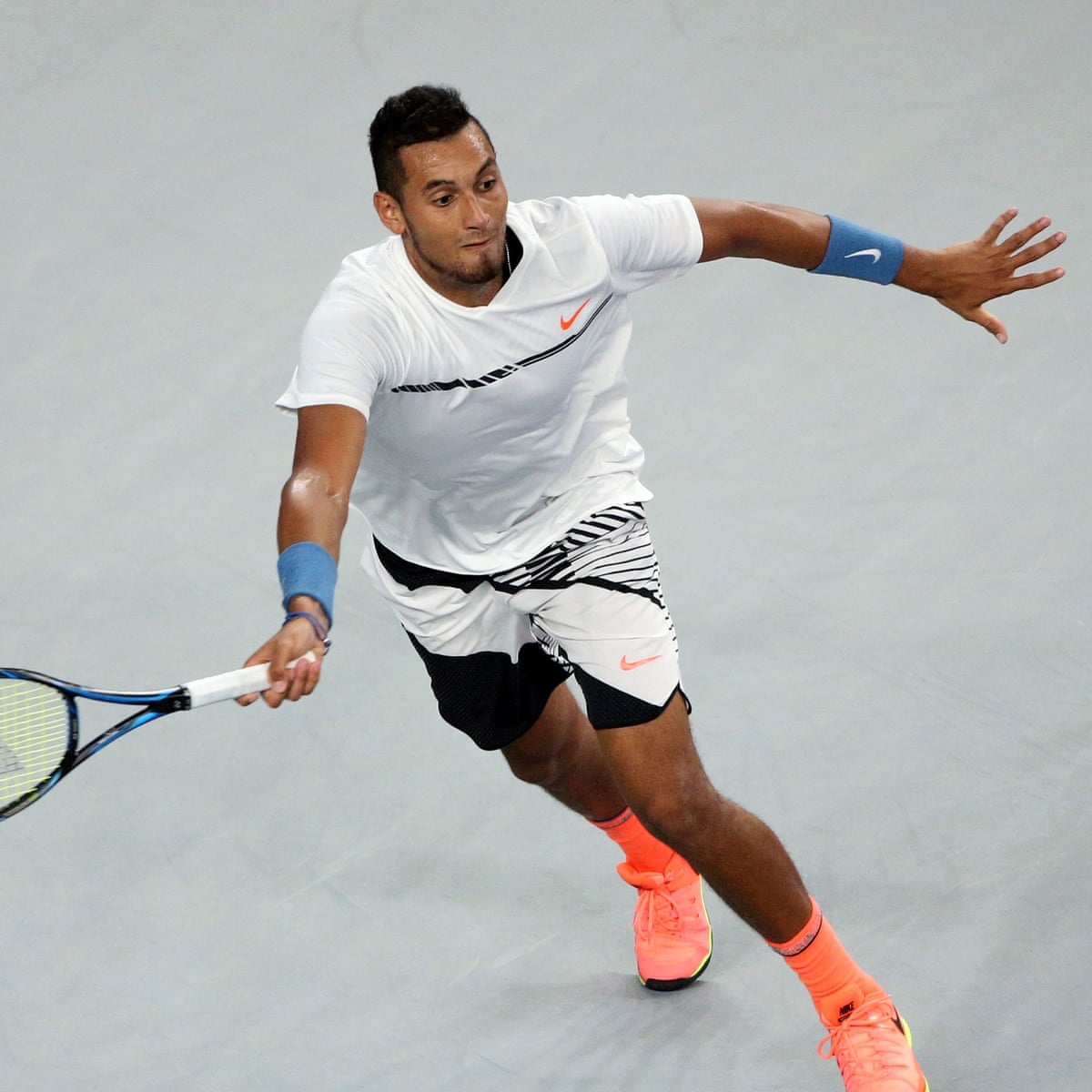 Kyrgios On Track To Face Djokovic After Third Round Win In Acapulco Nick Kyrgios The Guardian